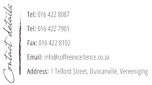 Contact Details of coffee excellence